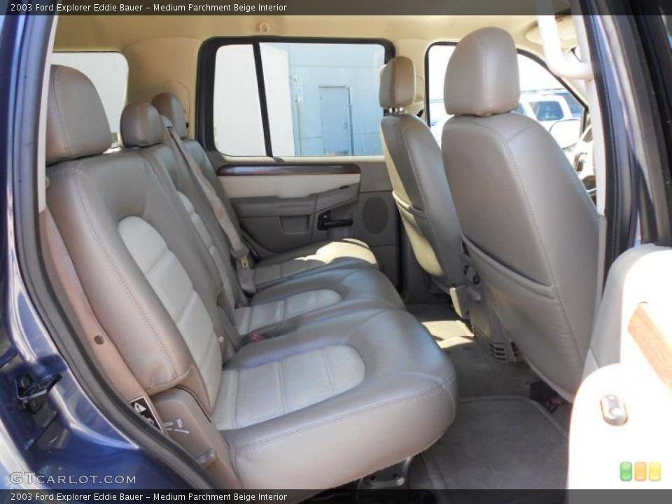Medium Parchment Beige Interior Photo for the 2003 Ford Explorer Eddie Bauer #53817767