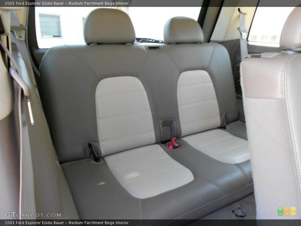 Medium Parchment Beige Interior Photo for the 2003 Ford Explorer Eddie Bauer #53817774