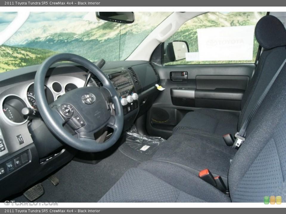 Black Interior Photo for the 2011 Toyota Tundra SR5 CrewMax 4x4 #53895308