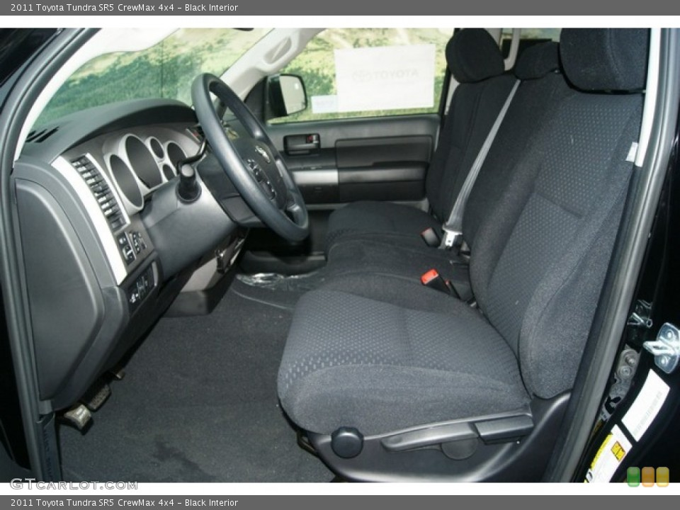 Black Interior Photo for the 2011 Toyota Tundra SR5 CrewMax 4x4 #53895317
