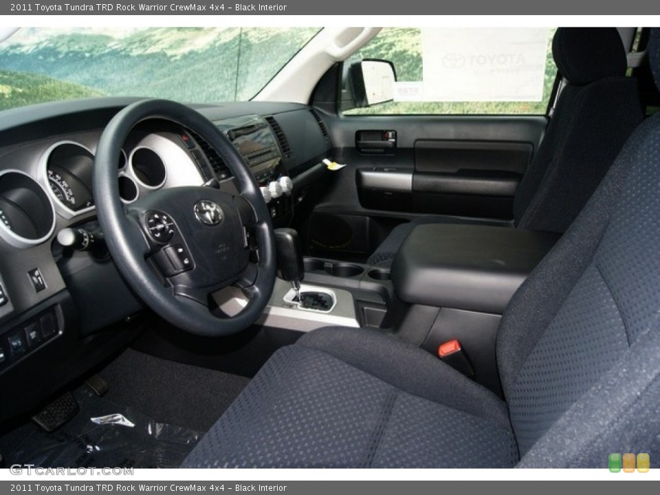 Black Interior Photo for the 2011 Toyota Tundra TRD Rock Warrior CrewMax 4x4 #53895425