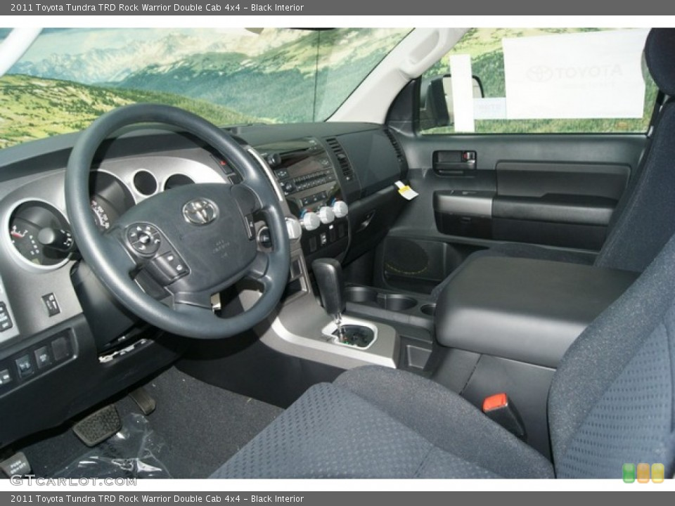 Black Interior Photo for the 2011 Toyota Tundra TRD Rock Warrior Double Cab 4x4 #53895542