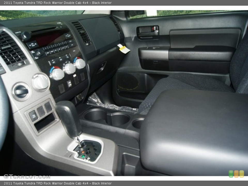 Black Interior Transmission for the 2011 Toyota Tundra TRD Rock Warrior Double Cab 4x4 #53895566