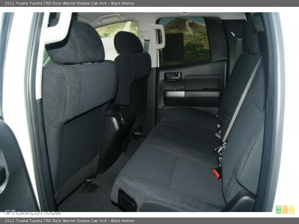 Black Interior Photo for the 2011 Toyota Tundra TRD Rock Warrior Double Cab 4x4 #53895575