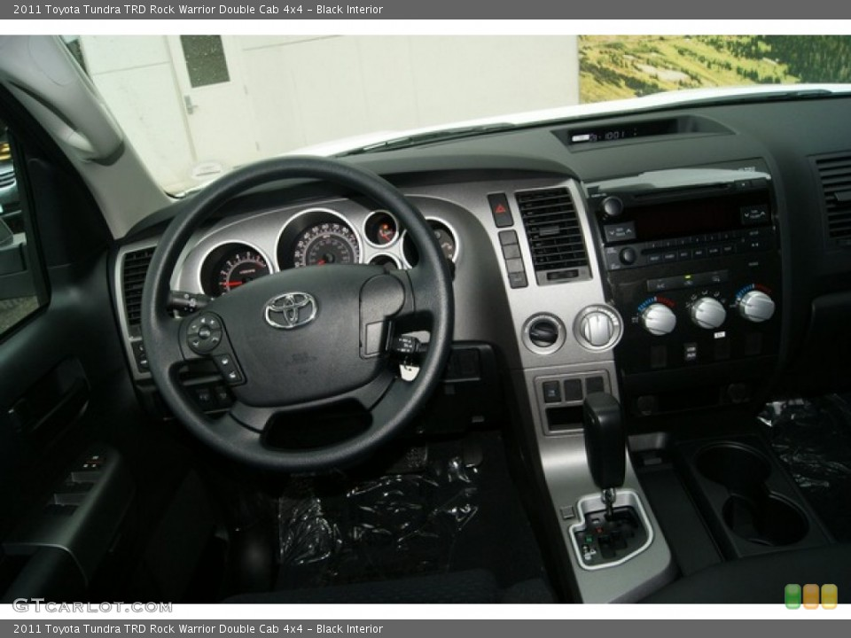Black Interior Dashboard for the 2011 Toyota Tundra TRD Rock Warrior Double Cab 4x4 #53895590