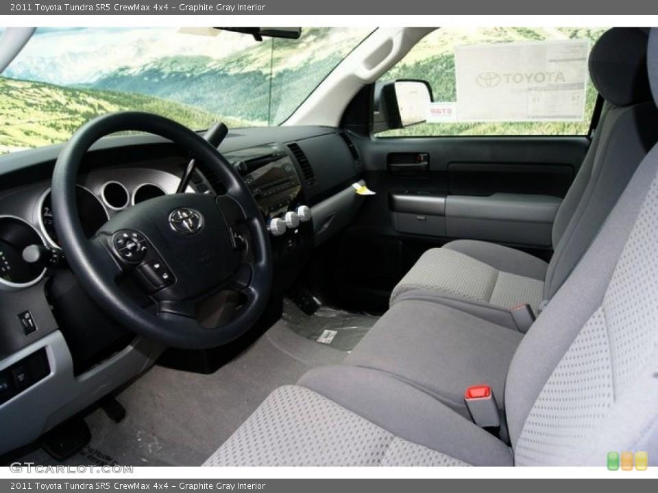 Graphite Gray Interior Photo for the 2011 Toyota Tundra SR5 CrewMax 4x4 #53895662