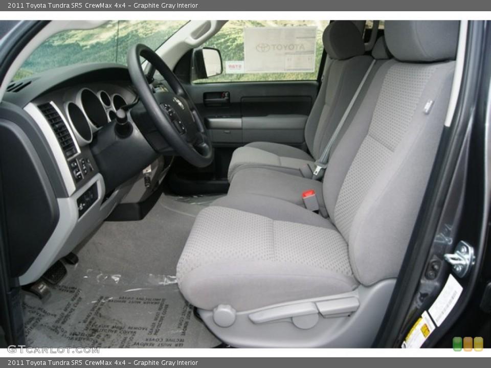 Graphite Gray Interior Photo for the 2011 Toyota Tundra SR5 CrewMax 4x4 #53895671