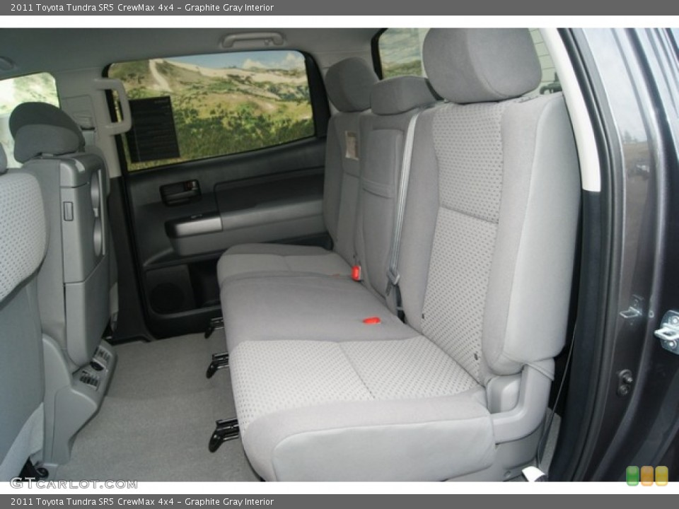 Graphite Gray Interior Photo for the 2011 Toyota Tundra SR5 CrewMax 4x4 #53895701