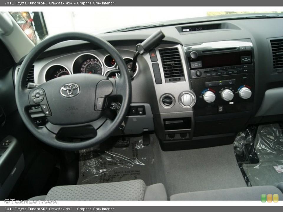 Graphite Gray Interior Dashboard for the 2011 Toyota Tundra SR5 CrewMax 4x4 #53895710