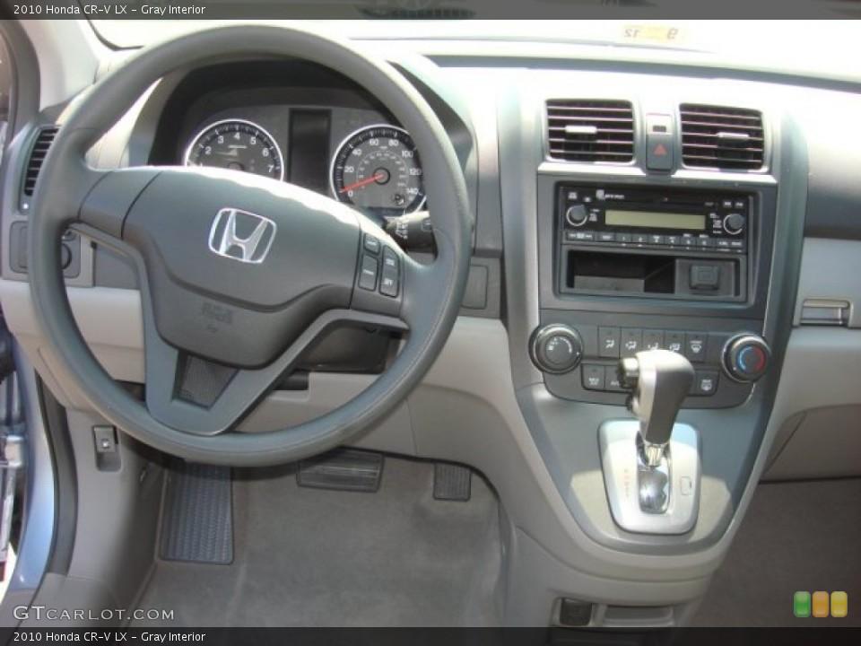 Gray Interior Dashboard for the 2010 Honda CR-V LX #53911852