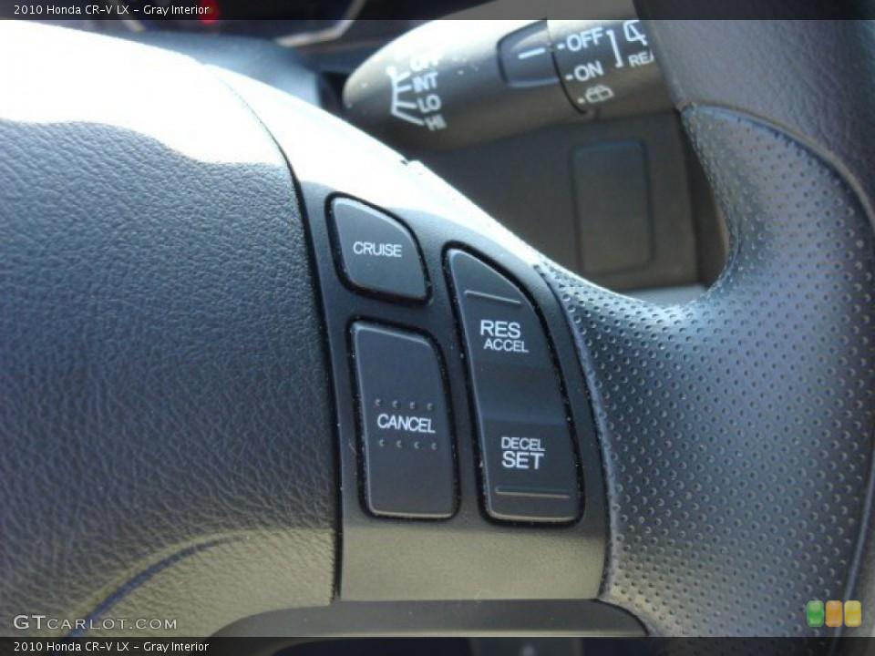Gray Interior Controls for the 2010 Honda CR-V LX #53911900