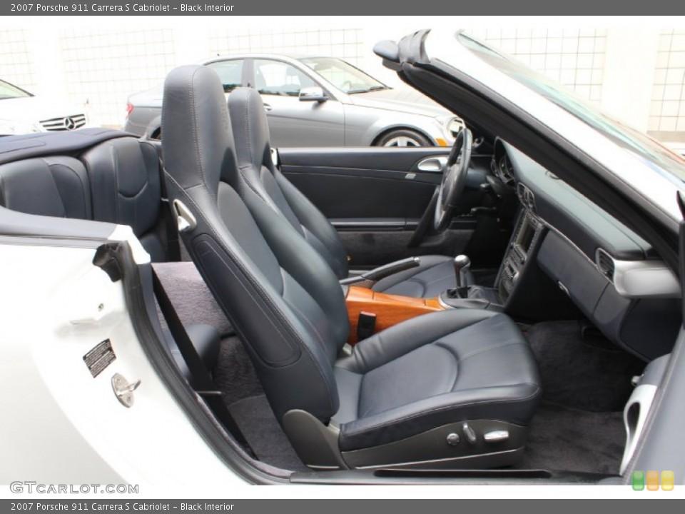 Black Interior Photo for the 2007 Porsche 911 Carrera S Cabriolet #53915839