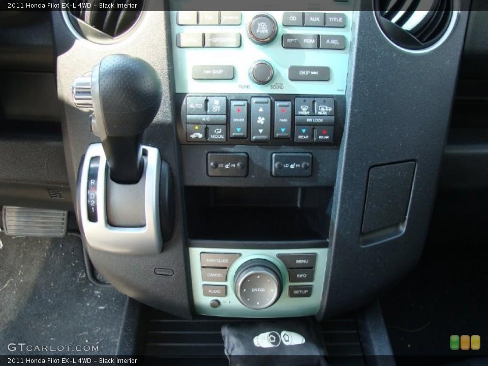 Black Interior Controls for the 2011 Honda Pilot EX-L 4WD #54033200