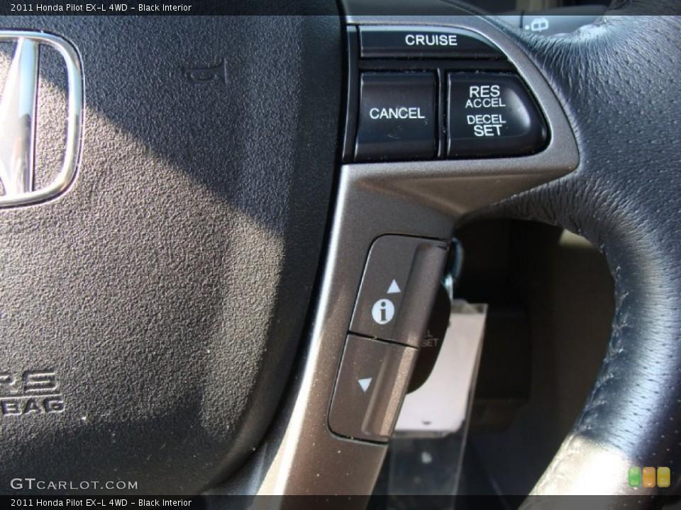 Black Interior Controls for the 2011 Honda Pilot EX-L 4WD #54033212