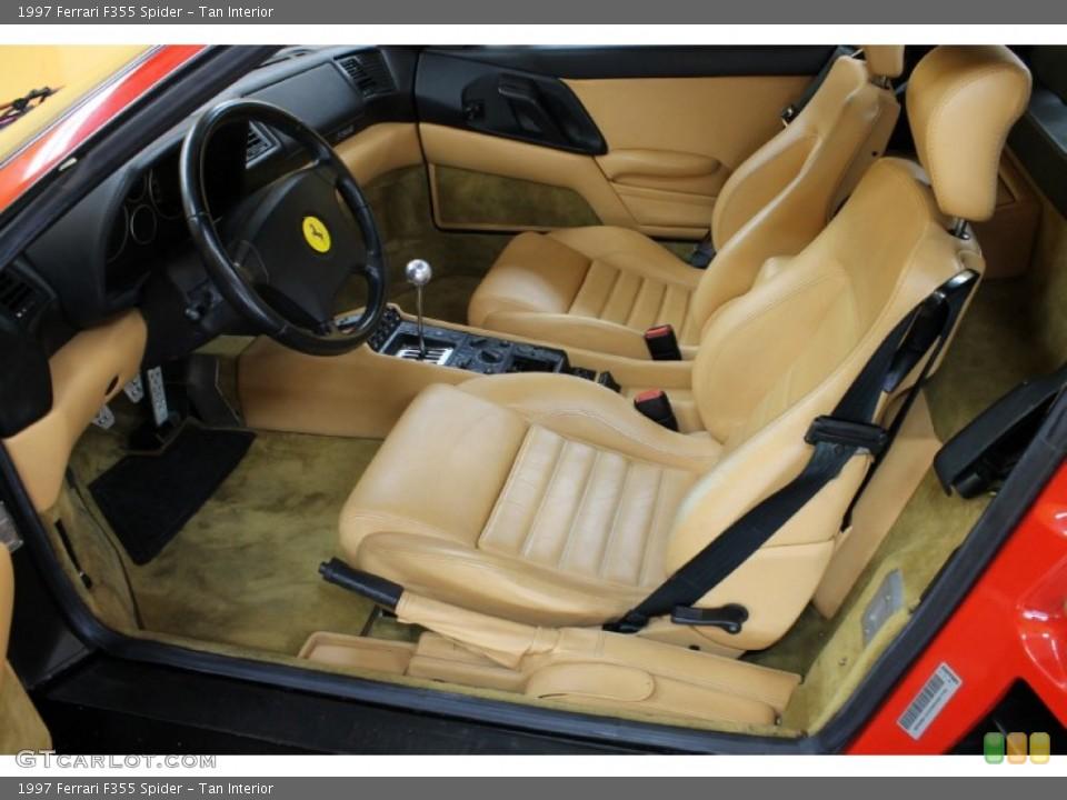 Tan Interior Photo for the 1997 Ferrari F355 Spider #54179311