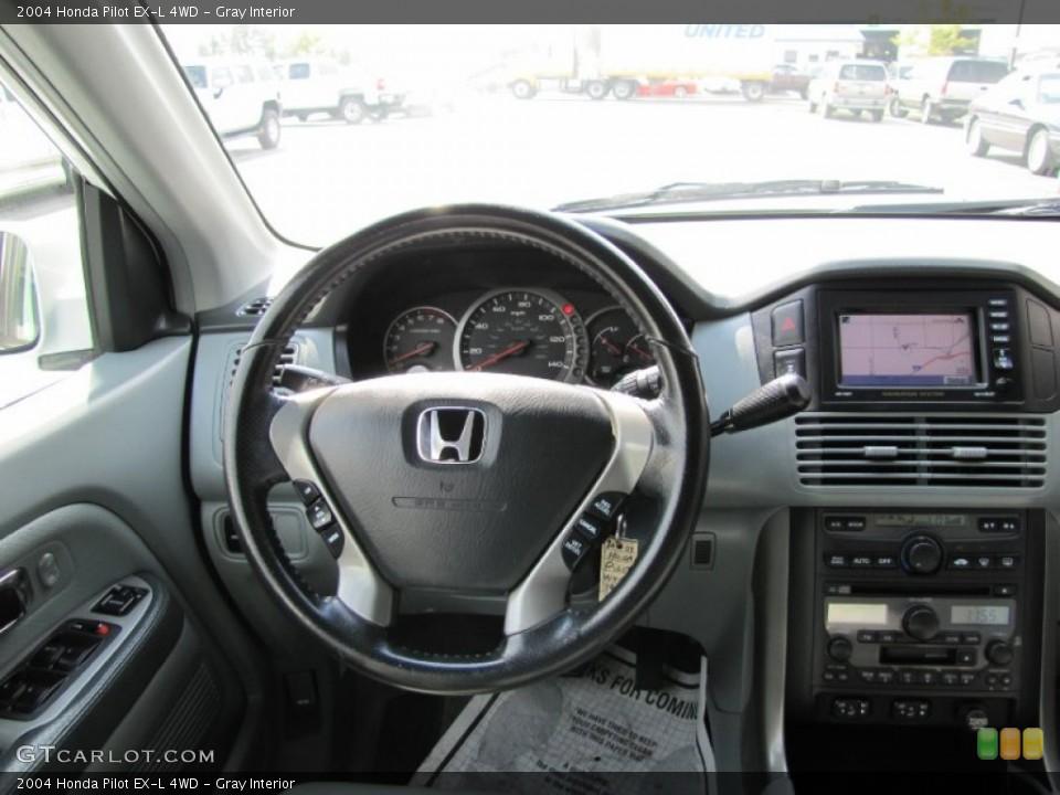Gray Interior Dashboard for the 2004 Honda Pilot EX-L 4WD #54361759