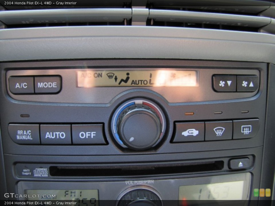 Gray Interior Controls for the 2004 Honda Pilot EX-L 4WD #54361837