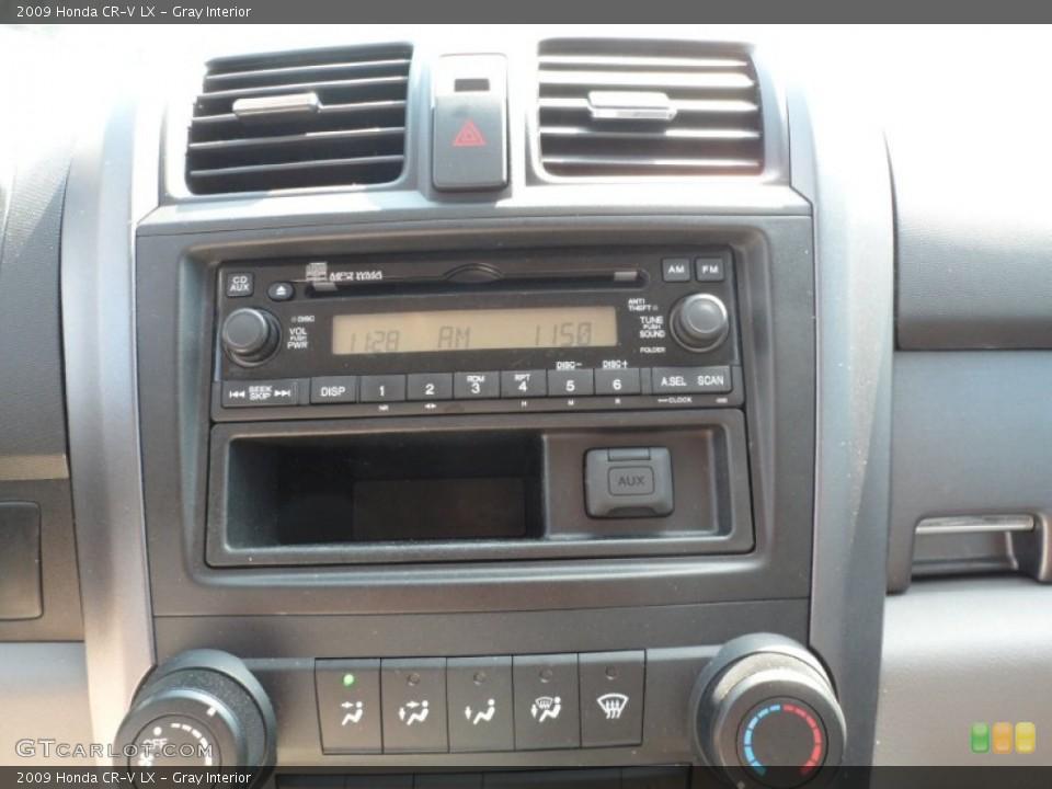Gray Interior Audio System for the 2009 Honda CR-V LX #54368893