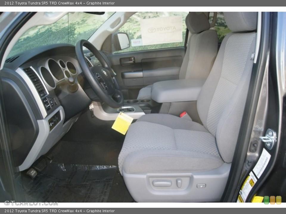 Graphite Interior Photo for the 2012 Toyota Tundra SR5 TRD CrewMax 4x4 #54401373