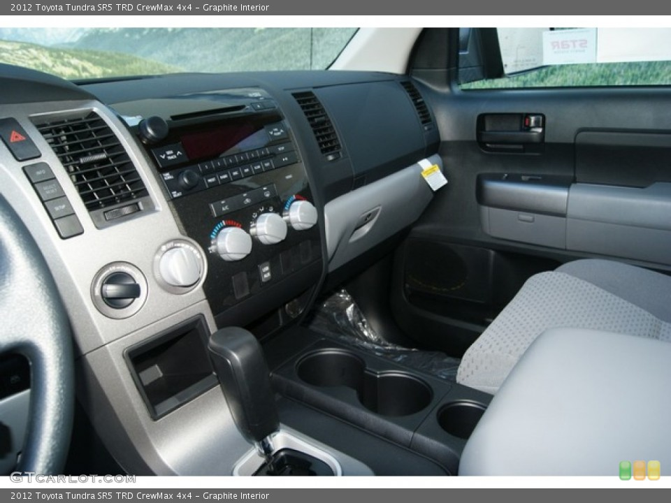 Graphite Interior Dashboard for the 2012 Toyota Tundra SR5 TRD CrewMax 4x4 #54401383