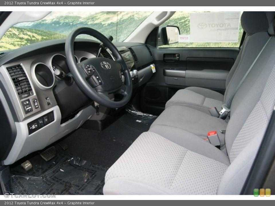 Graphite Interior Photo for the 2012 Toyota Tundra CrewMax 4x4 #54401476