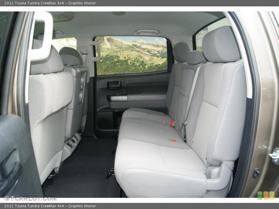 Graphite Interior Photo for the 2012 Toyota Tundra CrewMax 4x4 #54401503