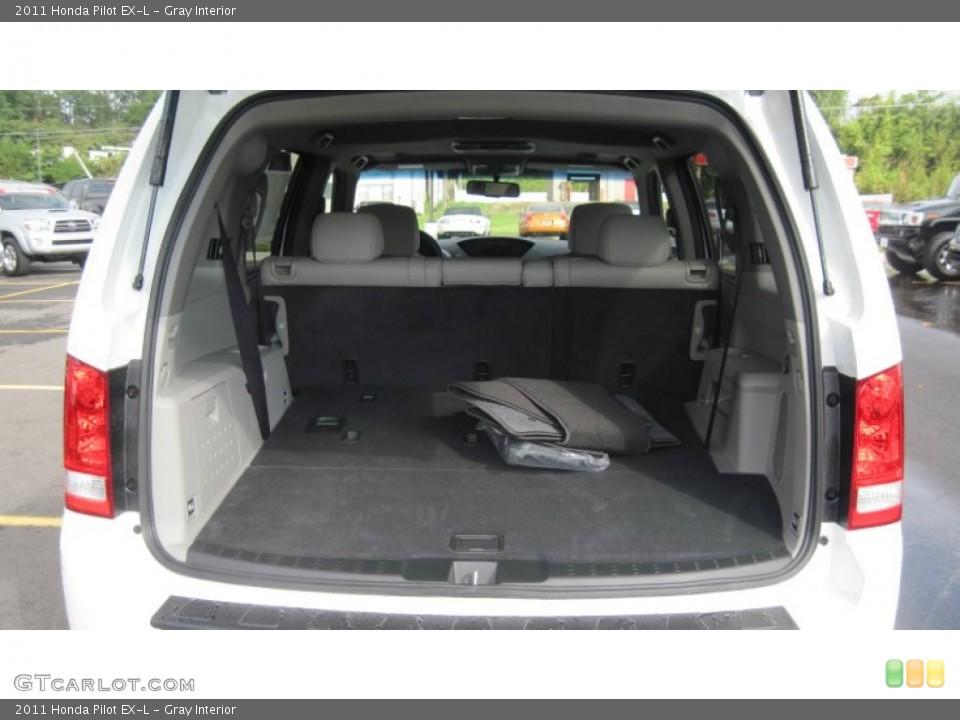 Gray Interior Trunk for the 2011 Honda Pilot EX-L #54415849