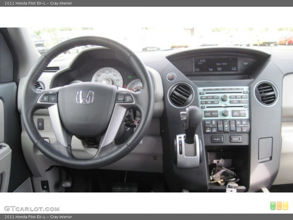 Gray Interior Dashboard for the 2011 Honda Pilot EX-L #54415855