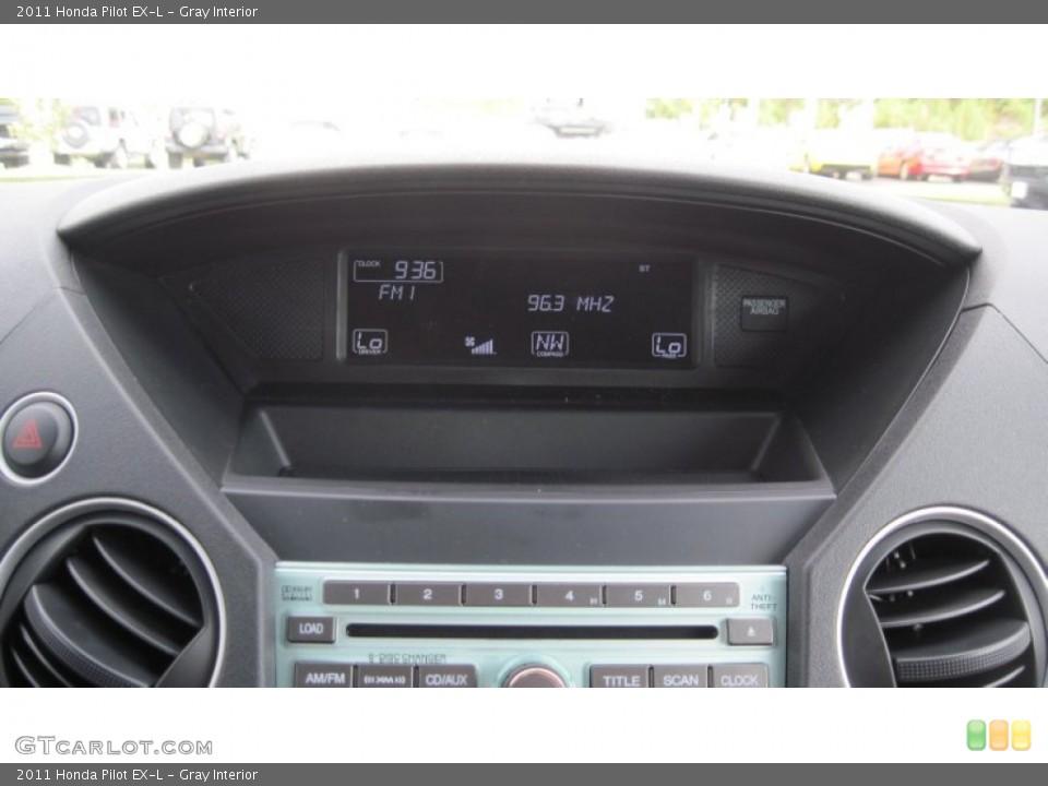 Gray Interior Controls for the 2011 Honda Pilot EX-L #54415901
