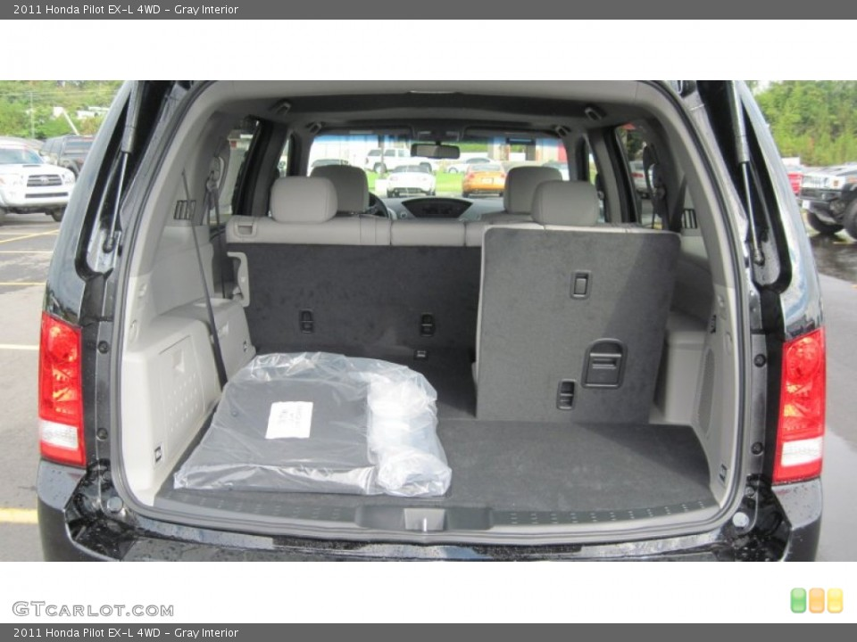 Gray Interior Trunk for the 2011 Honda Pilot EX-L 4WD #54416173