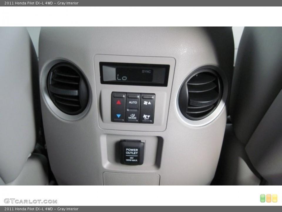 Gray Interior Controls for the 2011 Honda Pilot EX-L 4WD #54416194