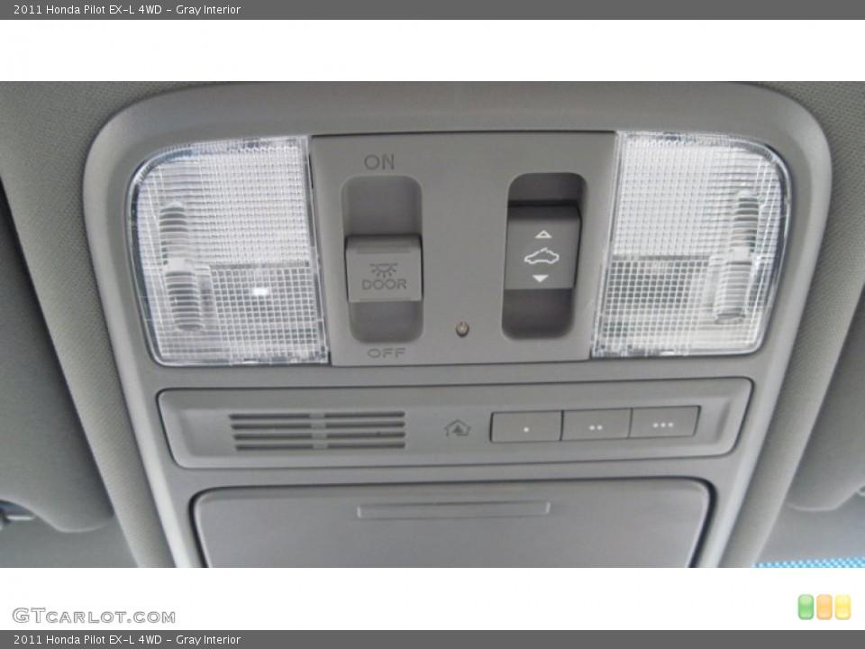 Gray Interior Controls for the 2011 Honda Pilot EX-L 4WD #54416245