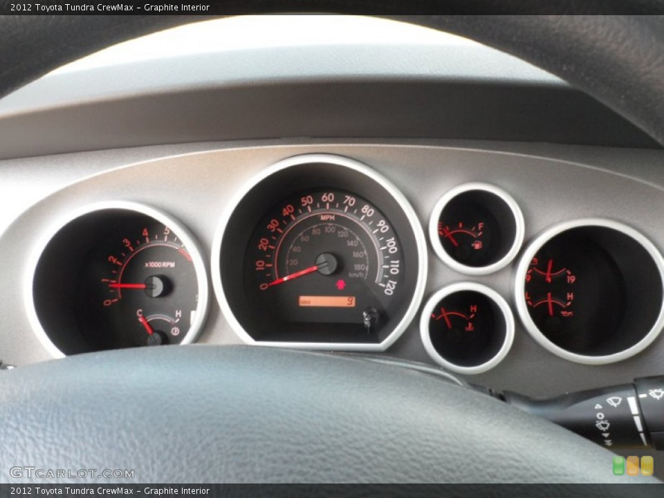 Graphite Interior Gauges for the 2012 Toyota Tundra CrewMax #54422034
