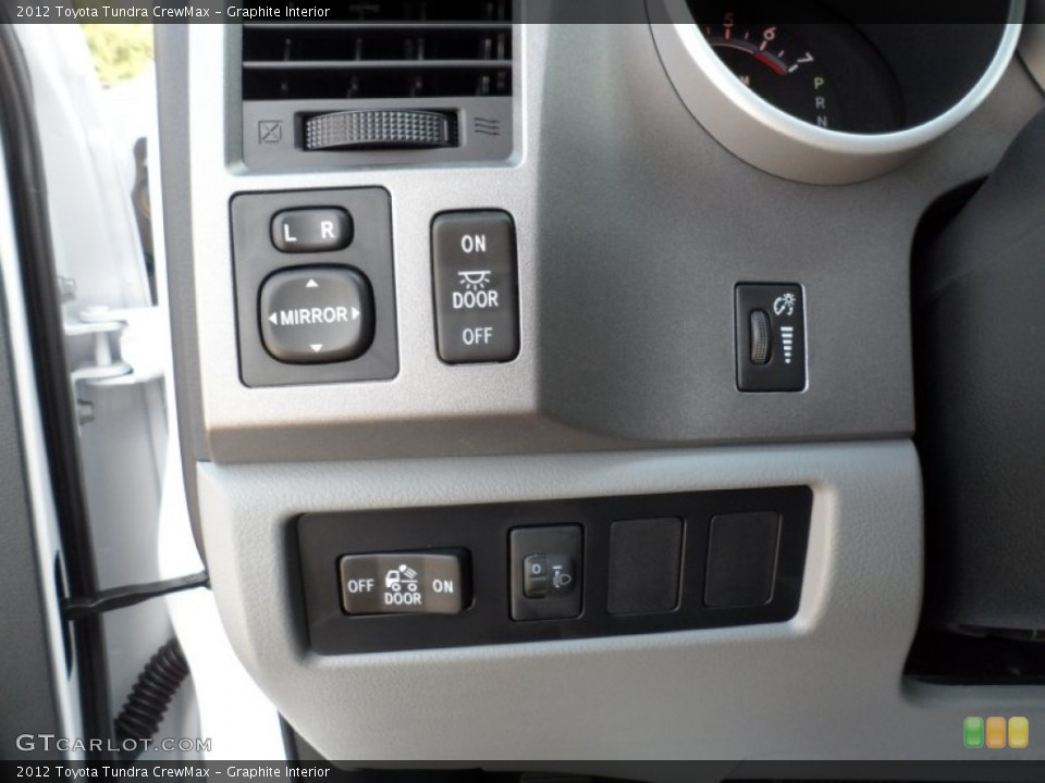 Graphite Interior Controls for the 2012 Toyota Tundra CrewMax #54422043