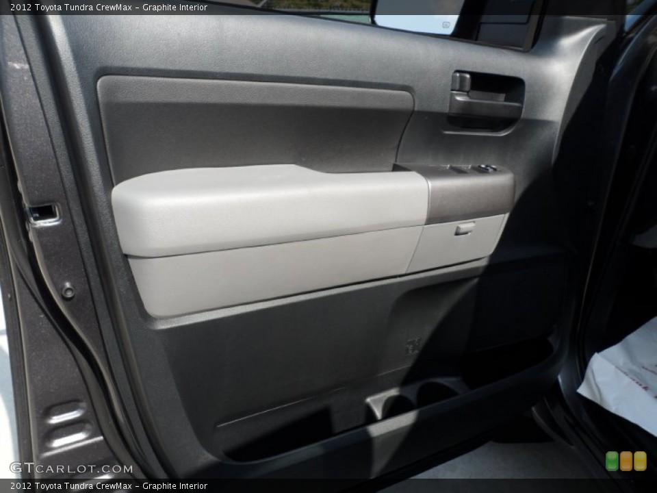 Graphite Interior Door Panel for the 2012 Toyota Tundra CrewMax #54422259