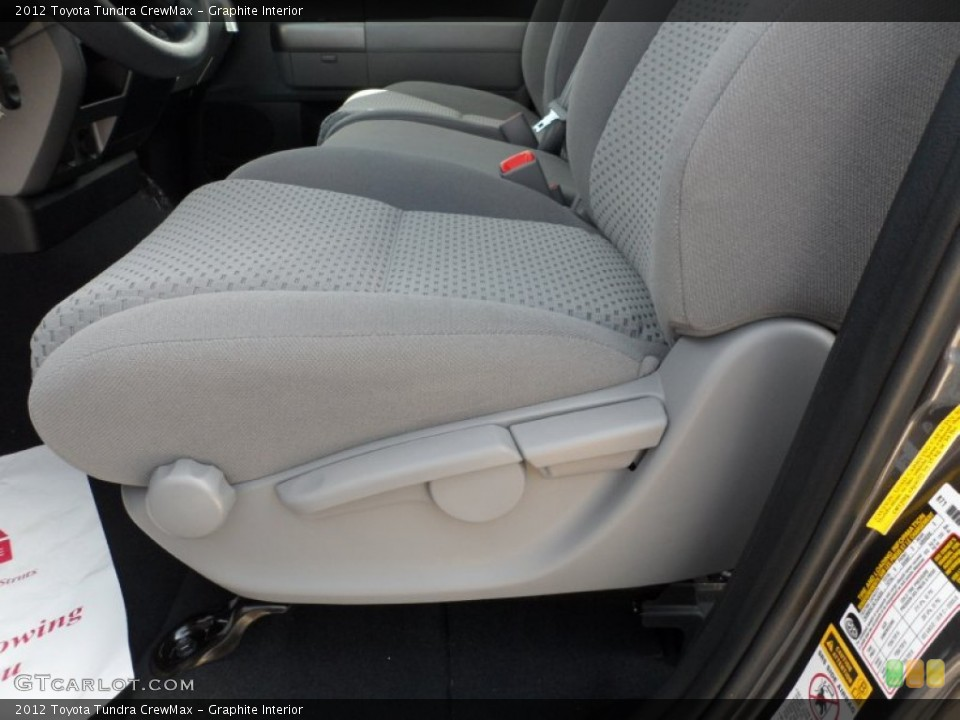 Graphite Interior Photo for the 2012 Toyota Tundra CrewMax #54422288