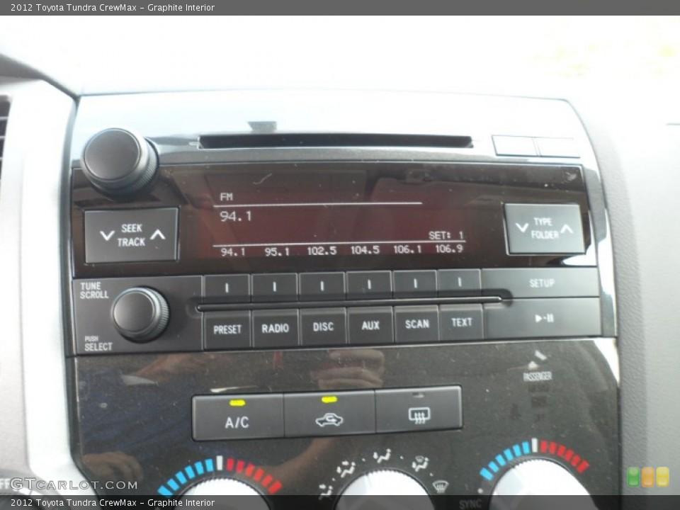 Graphite Interior Audio System for the 2012 Toyota Tundra CrewMax #54422315
