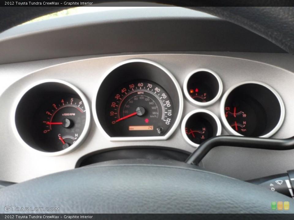 Graphite Interior Gauges for the 2012 Toyota Tundra CrewMax #54422340