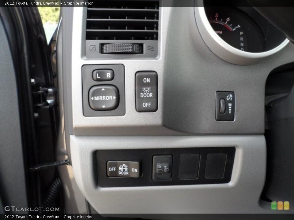 Graphite Interior Controls for the 2012 Toyota Tundra CrewMax #54422349