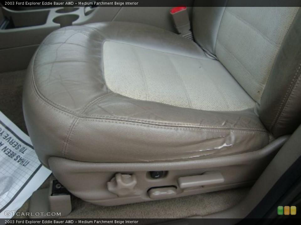 Medium Parchment Beige Interior Photo for the 2003 Ford Explorer Eddie Bauer AWD #54454557