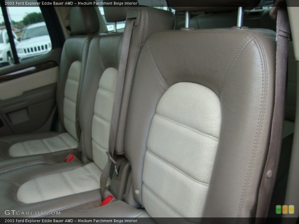 Medium Parchment Beige Interior Photo for the 2003 Ford Explorer Eddie Bauer AWD #54454566