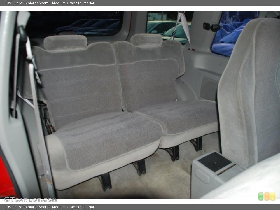 Medium Graphite Interior Photo for the 1998 Ford Explorer Sport #54599253