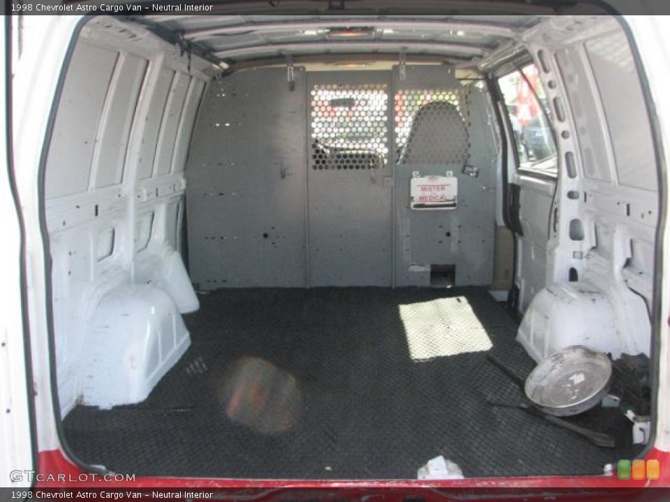 Neutral Interior Trunk for the 1998 Chevrolet Astro Cargo Van #54643632