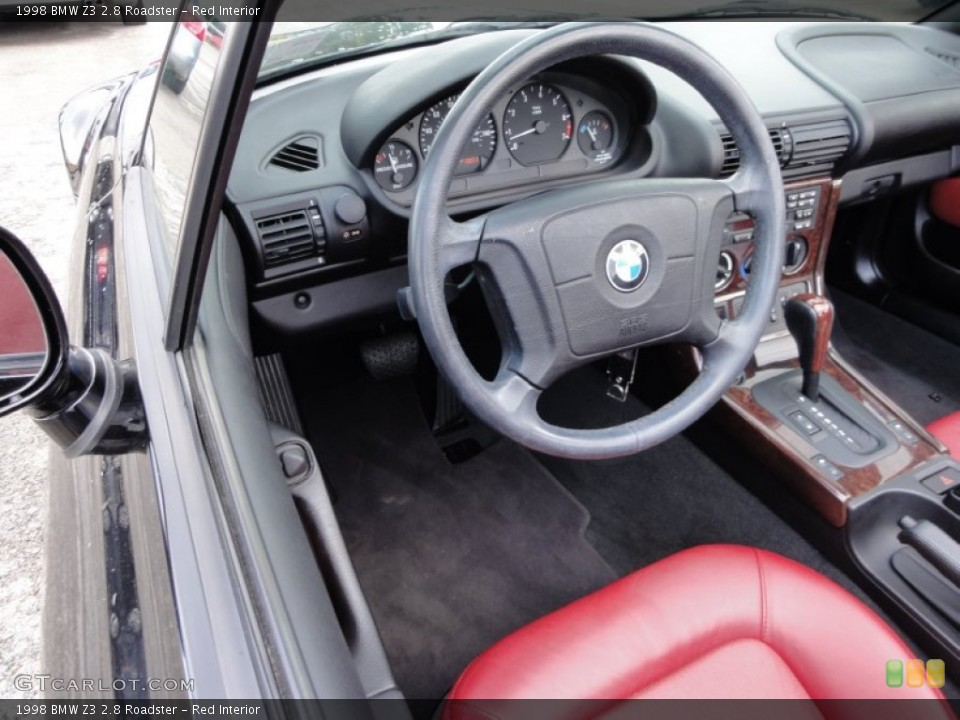 Red Interior Steering Wheel for the 1998 BMW Z3 2.8 Roadster #54715686