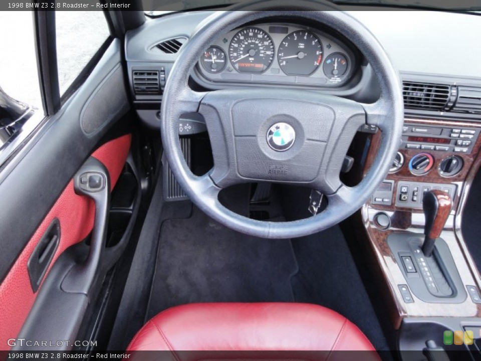Red Interior Steering Wheel for the 1998 BMW Z3 2.8 Roadster #54715880