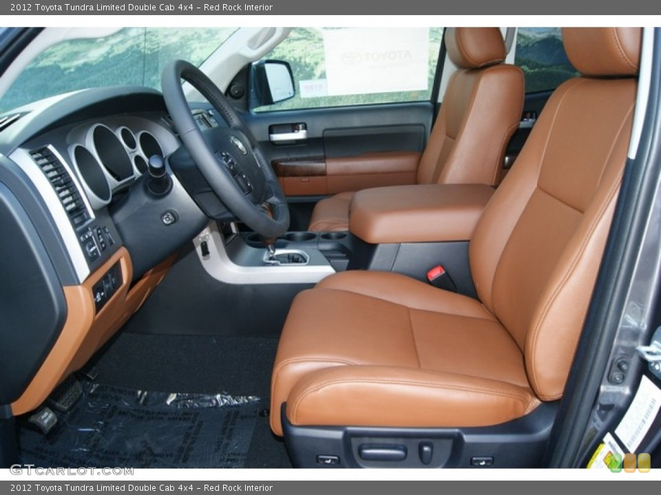 Red Rock Interior Photo for the 2012 Toyota Tundra Limited Double Cab 4x4 #54721024
