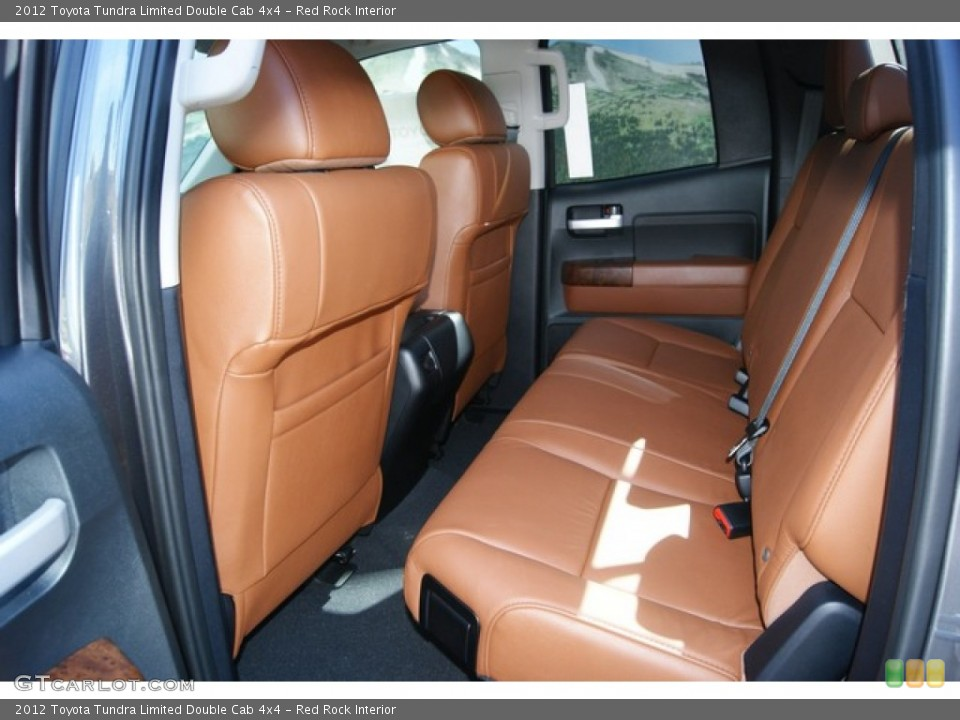 Red Rock Interior Photo for the 2012 Toyota Tundra Limited Double Cab 4x4 #54721069