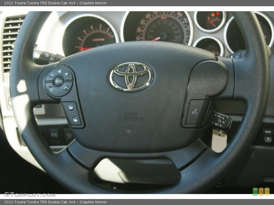 Graphite Interior Steering Wheel for the 2012 Toyota Tundra TRD Double Cab 4x4 #54721300