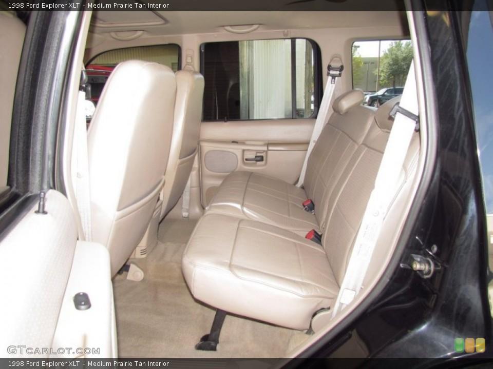 Medium Prairie Tan Interior Photo for the 1998 Ford Explorer XLT #54973702