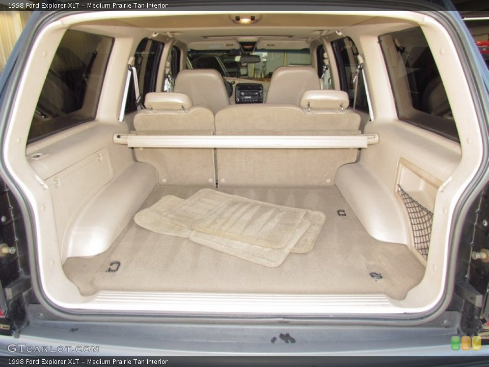 Medium Prairie Tan Interior Trunk for the 1998 Ford Explorer XLT #54973771